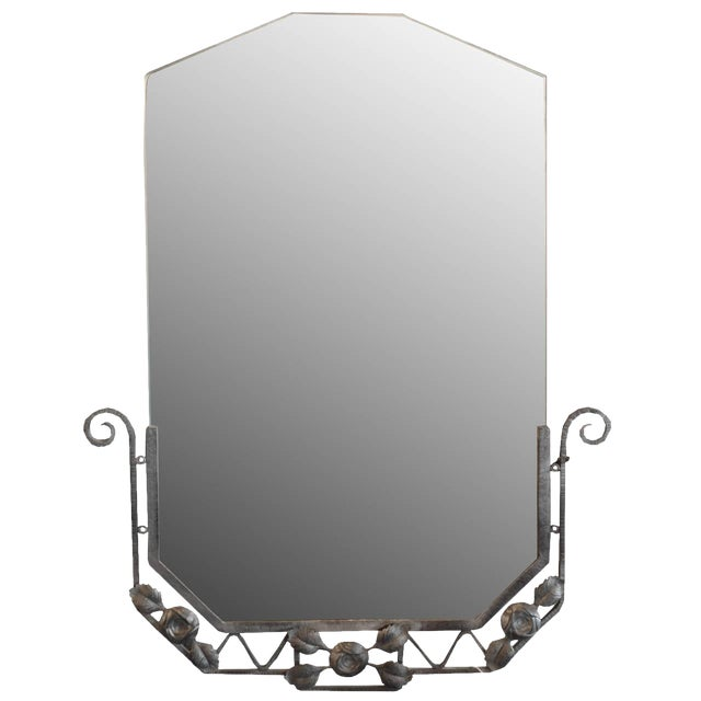 French Fer Forge Mirror - Image 1 of 4