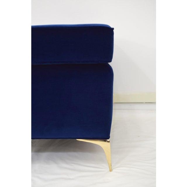 CF Modern Custom Cubist Stiletto Ottoman - Image 2 of 9