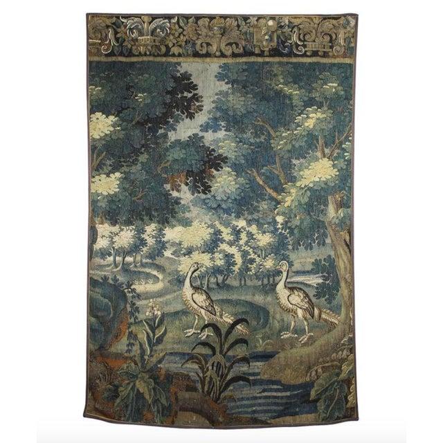 Flemish Verdure Tapestry For Sale - Image 10 of 10