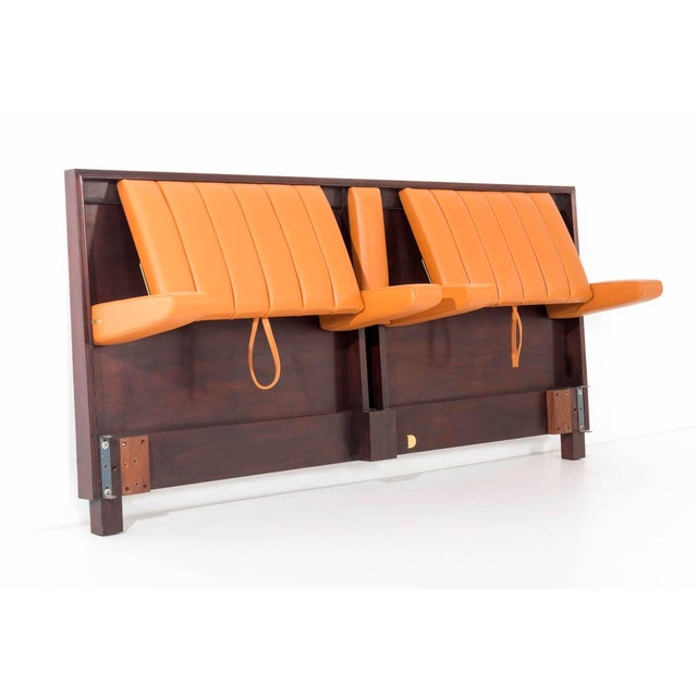 Mid-Century Modern Edward Wormley King-Size Headboard For Sale - Image 3 of 7