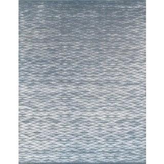 "Modern Silk & Wool Area Rug - 6'2"" X 9'4"""