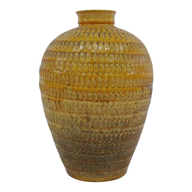 Large Floor Vase by Svend Hammershøi for Herman a Kahler Keramik For Sale