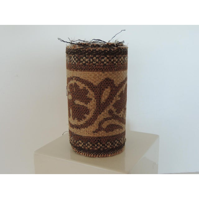 """Set of """"4"""" Jute Woven Arts and Crafts Style Decorative Trims For Sale In Miami - Image 6 of 6"""