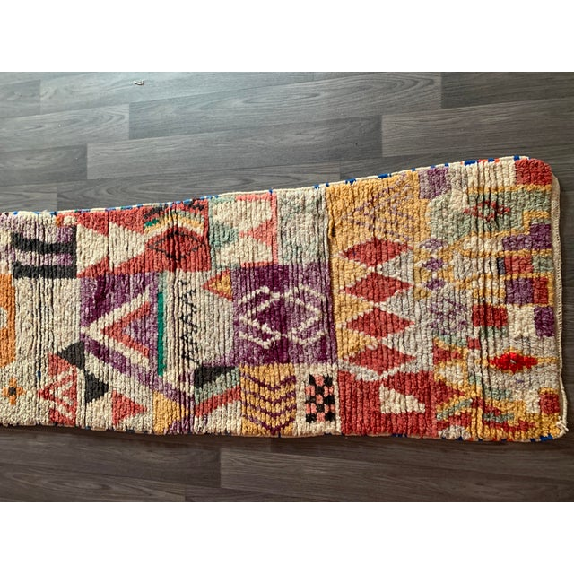 1950s Moroccan Vintage Runner-2′6″ × 11′ For Sale - Image 10 of 13