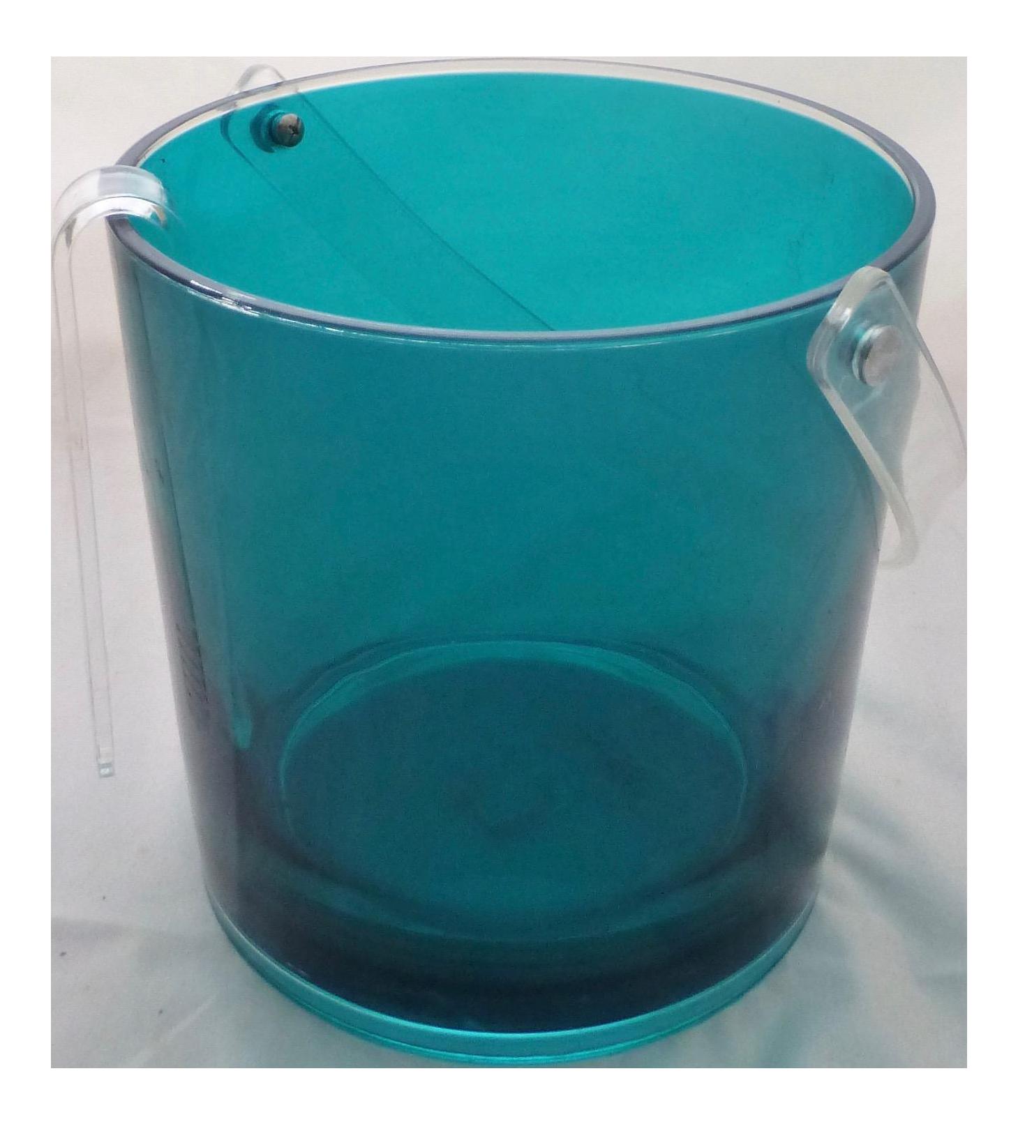 Mikasa Lucite Ice Bucket U0026 Tongs