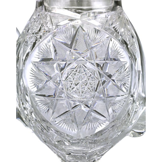 The coffee pot is believed to be the rarest form of American Brilliant Period cut glass, and this highly sought-after...