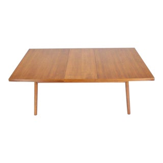 Robsjohn-Gibbings Mid-Century Modern Dining Walnut Table by Widdicomb For Sale