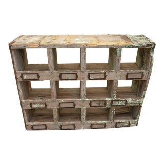1940s Rustic Style Cubby For Sale
