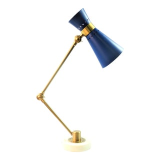 Contemporary Bungalow 5 Clipper Table Lamp For Sale
