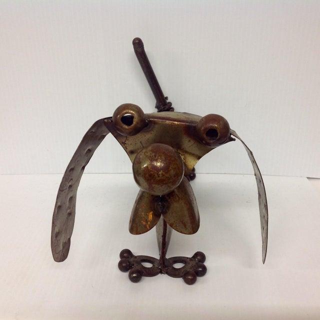 Industrial Steampunk Weiner Dog Sculpture For Sale - Image 5 of 5