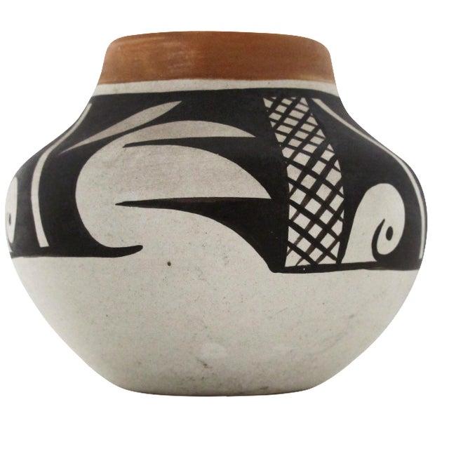 Acoma Native American Bud Vase - Image 1 of 5
