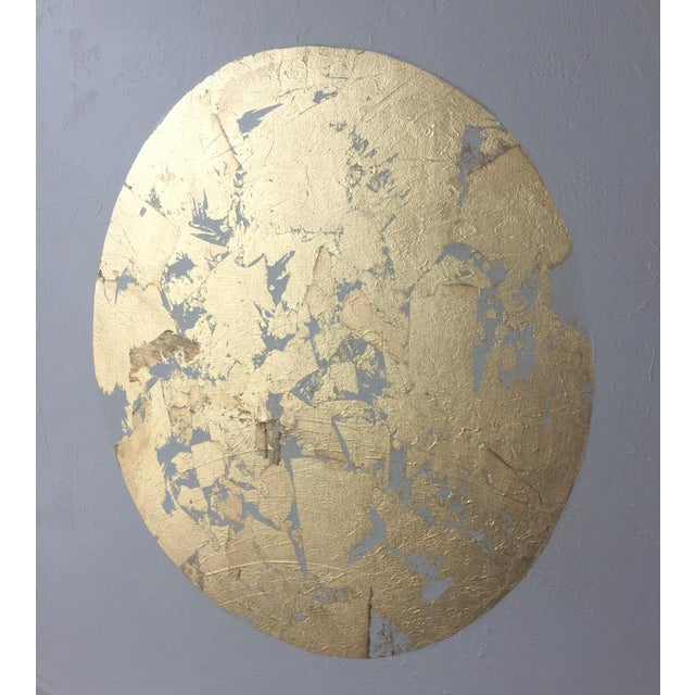 Gilded Circle No. 1 Acrylic on Canvas - Image 3 of 4