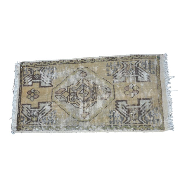 Turkish Decorative Rug - 1′6″ × 3′1″ For Sale