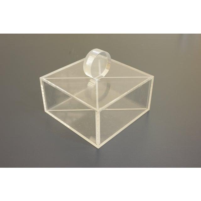Lucite Decorative Box - Image 2 of 8
