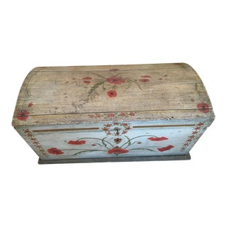 1840s Antique Swedish Chest For Sale