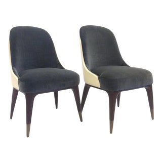 Covet Dining Chair by Steve Leung for Theodore Alexander - a Pair For Sale