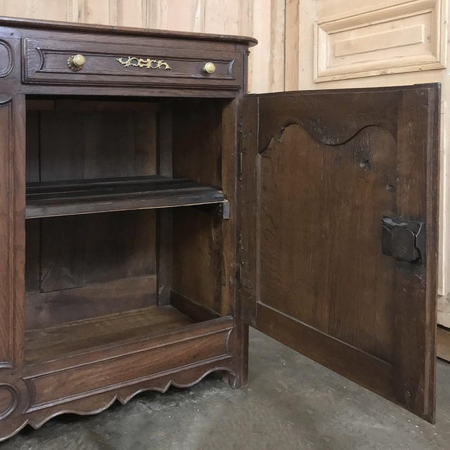 19th Century Country French Provincial Oak Low Buffet For Sale In Dallas - Image 6 of 13