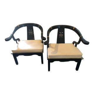 James Mont Style Ming Chairs- a Pair For Sale
