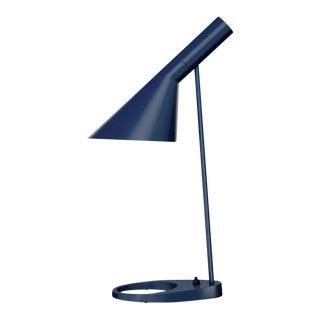 Arne Jacobsen 'Aj Mini' Table Lamp in Midnight Blue for Louis Poulsen For Sale