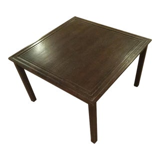 Mid-Century Dark Walnut Table