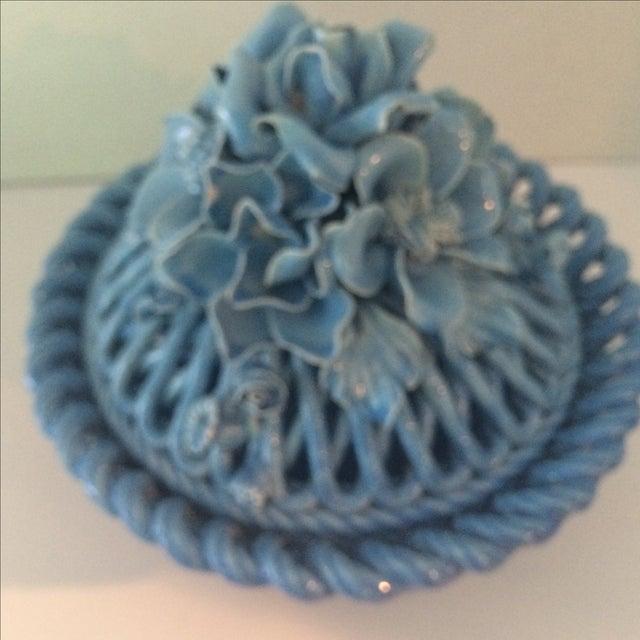 Blue Italian Potpourri Covered Dish - Image 9 of 9