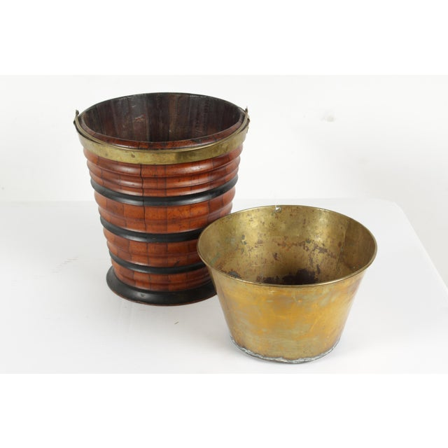 C.1830 Dutch Tea Bucket For Sale - Image 4 of 6