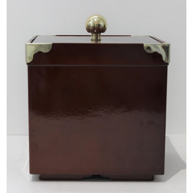 MId-Century Modern Georges Briard Collections Limited Designs Ice Bucket For Sale In West Palm - Image 6 of 13