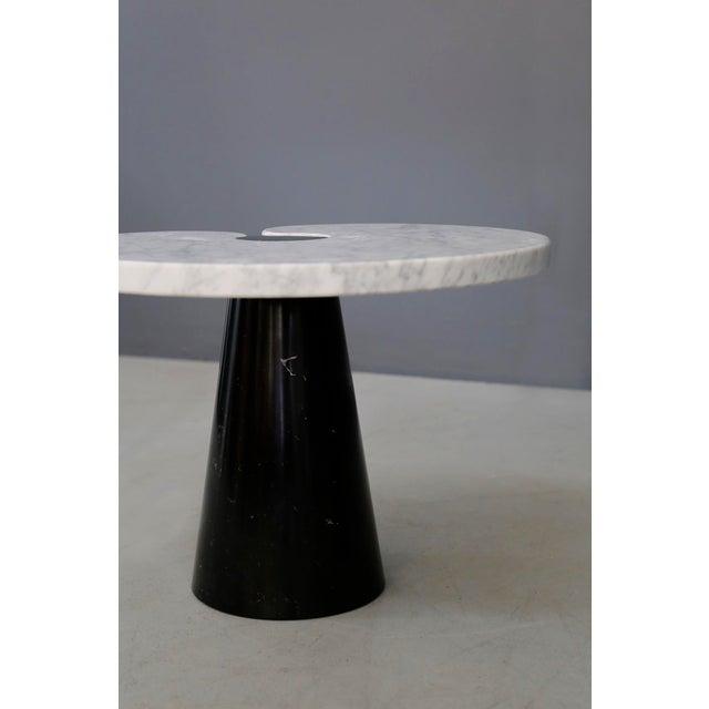 1970s Mangiarotti Coffe Table Skipper Series, Original Label in Marble, 1970s For Sale - Image 5 of 8