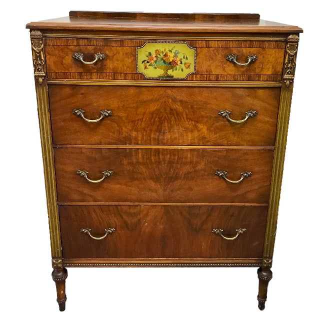 1930's Revell's Chicago Louis XVI Style Chest of Drawers For Sale - Image 12 of 12