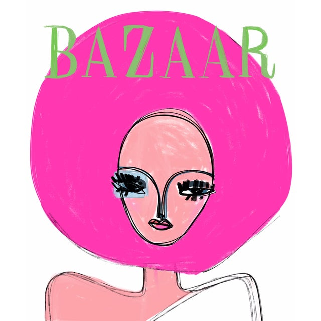 """Space Bazaar Cover"" Limited Edition Print by Annie Naranian For Sale"