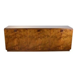 Vintage Romweber Mid-Century Modern Burled Walnut Sideboard