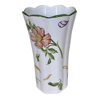 "Tiffany & Co ""Tiffany Petals"" Fluted Vase For Sale"