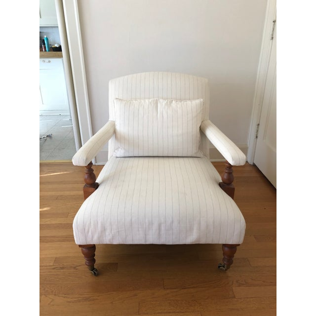 """Traditional Ralph Lauren """"Oliver"""" Accent Chair For Sale - Image 11 of 11"""