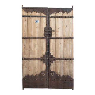 Antique Chinese Doors/Gates - a Pair For Sale