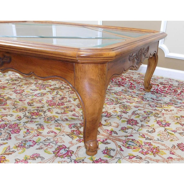 Drexel Heritage Cabernet Collection Coffee Table For Sale - Image 5 of 9