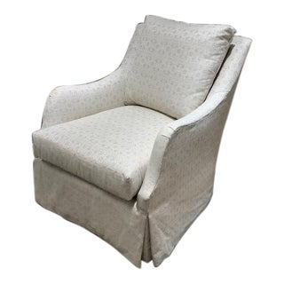Highland House Furniture Finnegan Skirted Chair For Sale