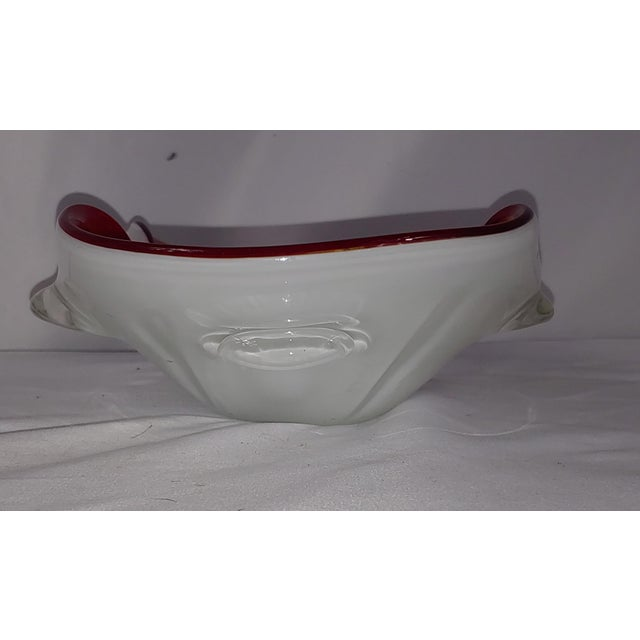 1950s Vibrant 1950s Murano Glass Bowl For Sale - Image 5 of 6