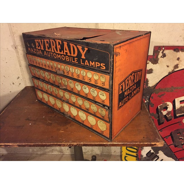 Eveready Mazda Auto Light Bulb Advertising Display - Image 4 of 6