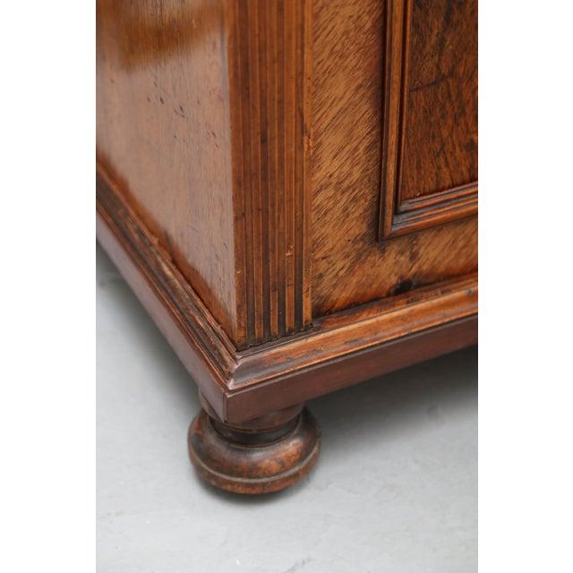 Biedermeier Biedermeier Style Walnut Cabinet, Germany, 1890 For Sale - Image 3 of 13