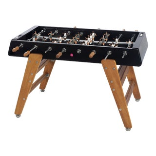 RS Barcelona Wood Foosball Table, Black For Sale