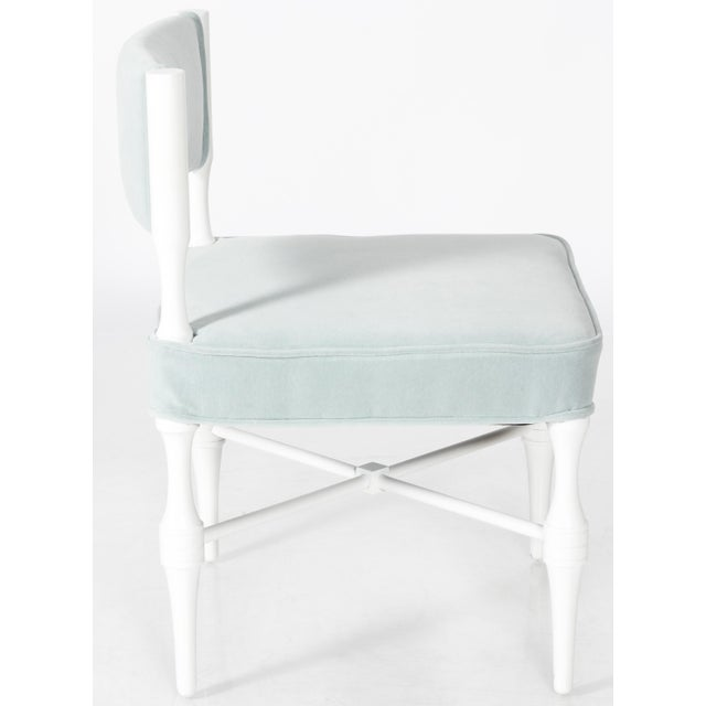 Tommi Parzinger Petite Slipper or Vanity Chairs - A Pair - Image 3 of 6