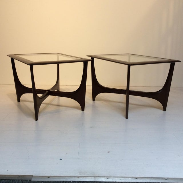 Mid-Century Modern 1950s Lane Side Tables - a Pair For Sale - Image 3 of 10