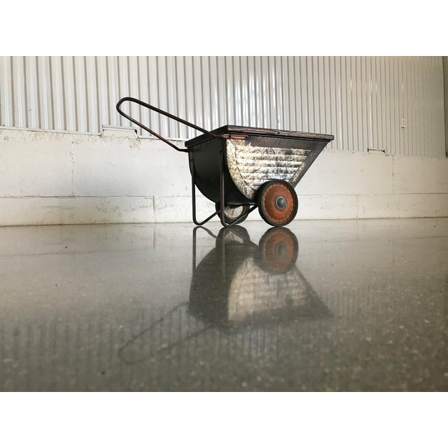 Vintage Industrial Cart Table or Beverage Cart - Image 10 of 10