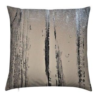 "C.Heckscher Collection Decorative Throw Pillow 16"" X 16"" ""Frozen Song"" For Sale"