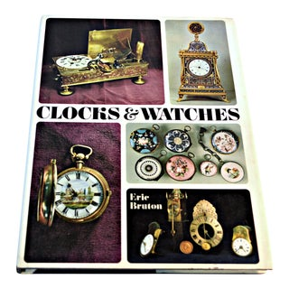 "1968 ""Clocks & Watches"" Hardcover Book by Eric Bruton/Paul Hamlyn For Sale"