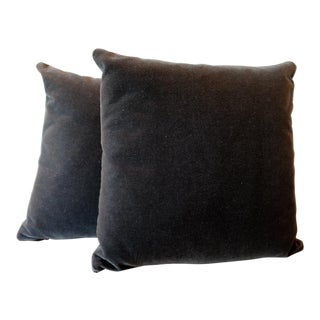 Maharam Mohair Pillow Covers - a pair