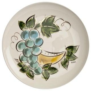 Sascha Brastoff Ceramic Serving Plate For Sale