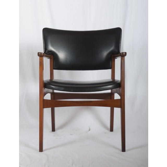 Scandinavian Armchair Attributed to Erik Kirkegaard For Sale - Image 6 of 8