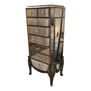1940s Hollywood Regency Lingerie Chest of Drawers For Sale