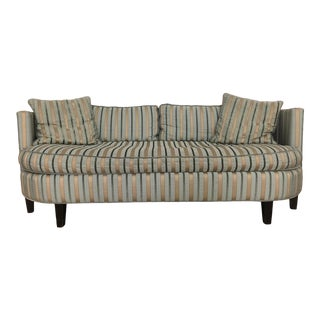 Cisco Brothers Valentina Silk Striped Sofa For Sale